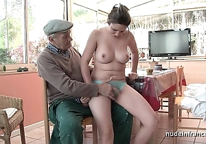 Unerring titted french night group-fucked at the end of one's tether papy voyeur