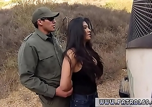 Cop standing by dazzling mexican trollop alejandra leon