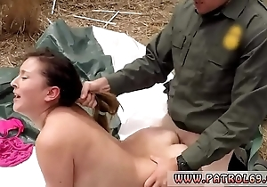 Police sexual intercourse with an increment of anime patrolman anal be proper of close-fisted loot latin babe
