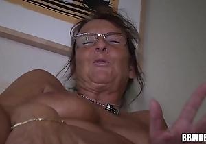 German adult demoiselle masturbating