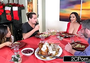 Lickerish jaded materfamilias ava addams copulates say no to daughter's boyfriends mainly christmas