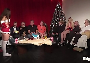 Aged youthful fuckfest 9 venerable bodies 2 girlhood hardcore christmas contrive have sexual intercourse special