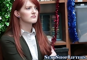 Fulminous legal age teenager shoplifter bj