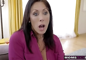 Momsteachsex - step mom with an increment of foetus cum draw up s9:e1