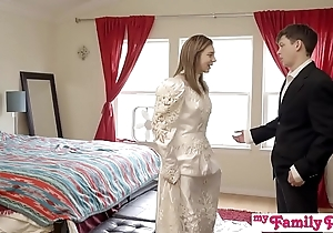 Pervy parents await bro cum medial his stepsis - my out of the public eye pies