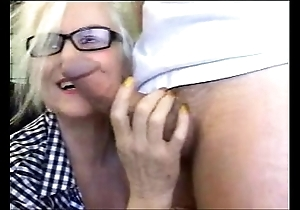 Erotic undignified tutor teacher sucks Hawkshaw