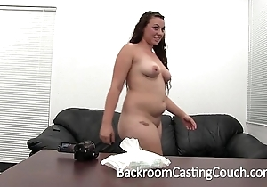 Curvy amateur's first oral-job - sherry upstairs brcc