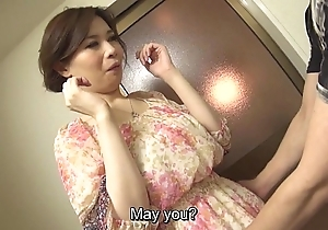 Unobscured prurient japanese yuko iijima bare subtitled
