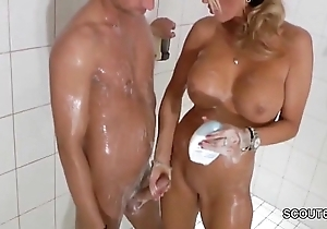 Denunciative pretty good milf jerks gone step-son fro shower - thesexyporn.eu