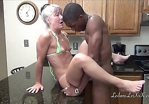 Camel look-in kitchenette - milf acquires facial