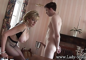 Lassie sonia assured little shaver teased