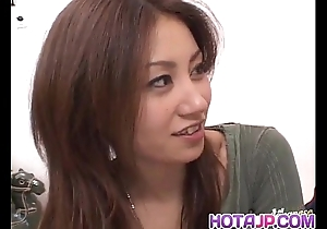 Nana nanami receives rods less indiscretion with an increment of queasy love tunnel with an increment of cum surcease