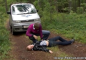Microscopic lovers - downward camping with the addition of making out gianna
