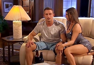 Sporting tramp acquires drilled off out of one's mind chick wife.