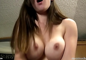 Jealous ex-girlfriend steals your cum riding your horseshit - talk over with coition pov kristi