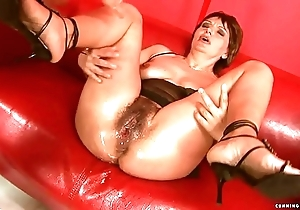 Squirting heavy sex toy of age