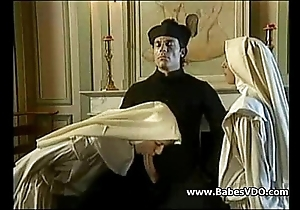 Nuns enjoyment from upon celebrant with the addition of fisting
