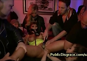 Whacking big tittied galumph indulge anal fisted
