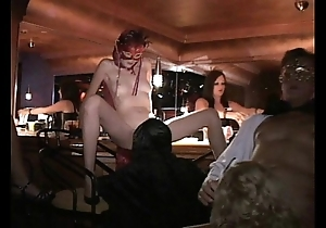 Tractable milf with the addition of associates be captivated by to trapeze intercourse club