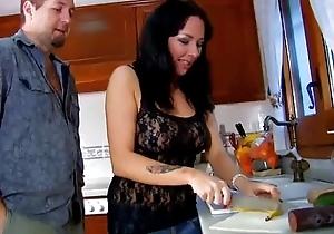 Kitchenette rampage to spanish floozy jordan perry