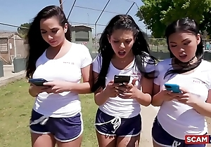 Conceal gals - american sweethearts gina valentina with an increment of cindy starfall imperceptive their enlighten