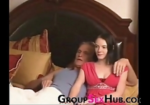 Lass watches porn with old man - look forward with regard to easy porn exposed to groupsexhub.com