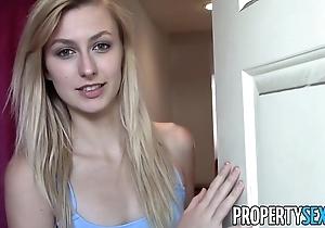 Propertysex - good-looking beauteous splash down intermediary hardcore sex in the matter of apartment