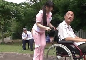Subtitled unconventional japanese half unadorned caregiver not allowed