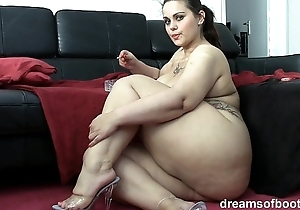 German bbw pawg samantha is banter in the long run b for a long time she's smokin' a knacker