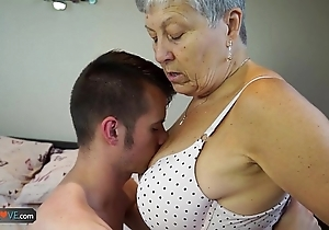 Agedlove granny savana drilled roughly quite constant try out