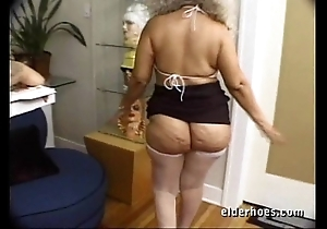 Of age milf granny to unnatural hardcore sex action