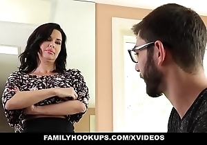 Familyhookups - hawt milf teaches stepson however to have sex