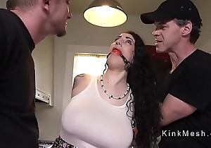 Whacking big knockers alt related receives anal screwed