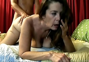 Cute venerable spunker enjoys a hard screwing added to a facial ejaculation