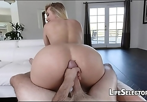 Aj applegate - cute light-complexioned can't live without acquire cum in excess of their way rectal hole