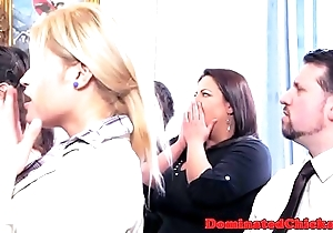 Submissive china pounded check out wedding