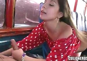 Colombiana en el motor coach