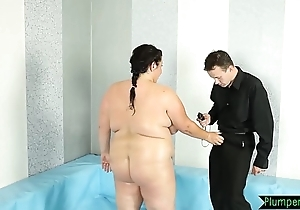 Chunky bigtits belle fucked atop the confound