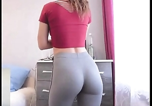 Order of the day baby here skin-tight yoga panties window-dressing fulminate clang dorm
